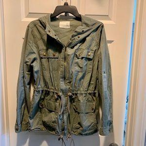 Life in Progress Utility Jacket size Large
